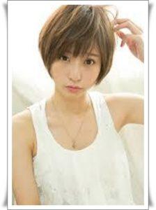 佐野ひなこ髪型ショート2