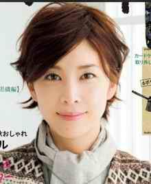 竹内結子髪型ショート