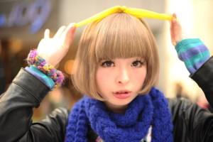 きゃりー髪型ボブ2