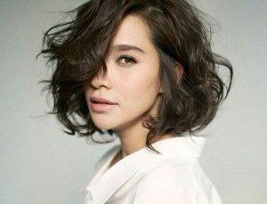 くせ毛髪型11