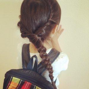 エルサ髪型1