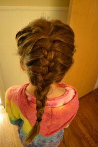 エルサ髪型2