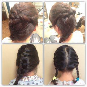 エルサ髪型3