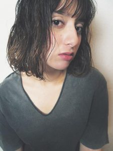 ショート髪型