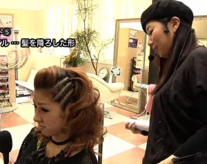 ダンス髪型8