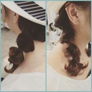 ディズニーランド髪型5