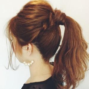 ディズニーランド髪型8