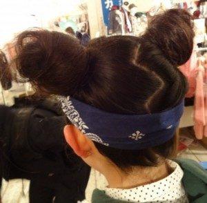 ディズニー髪型ショート12