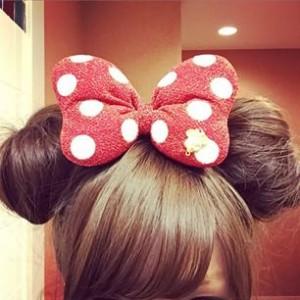 ディズニー髪型ミディアム5