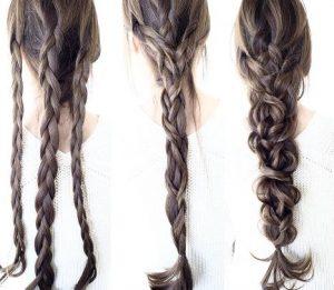ディズニー髪型ロング12