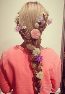 ディズニー髪型ロング3