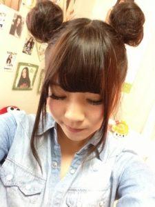 ディズニー髪型ロング7