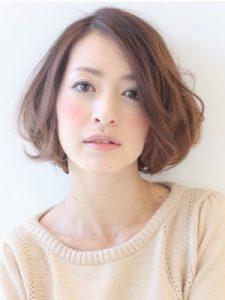 髪型パーマ1