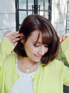 30代髪型ミディアム1