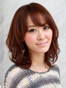 30代髪型ミディアム5