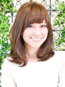30代髪型ミディアム6