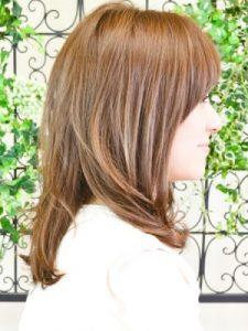 30代髪型ミディアム7
