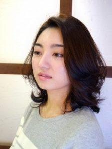 30代髪型ミディアム8