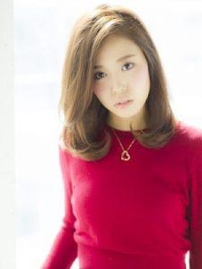 30代髪型ミディアム9