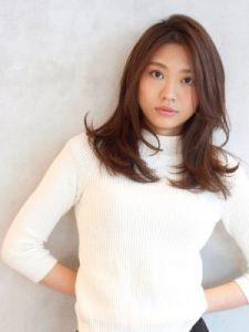 30代髪型ロング10