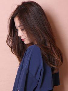30代髪型ロング4