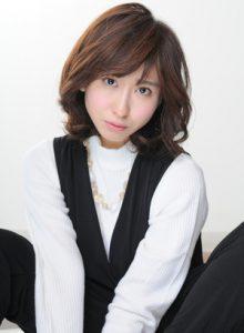 40代髪型ショート丸顔4