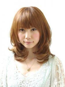 40代髪型ミディアム11