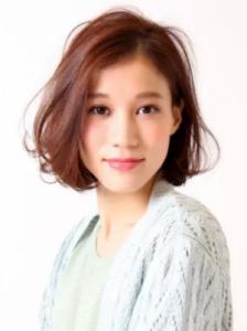 40代髪型ミディアム8