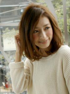 40代髪型ミディアム7