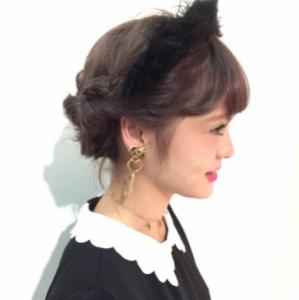 ハロウィン髪型4