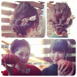 ハロウィン髪型5