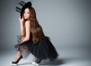 安室奈美恵髪型6