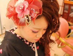 成人式髪型サイド9