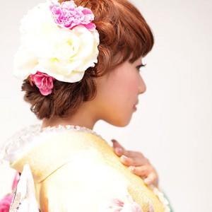 成人式髪型サイド