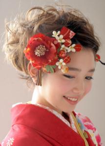 成人式髪型2