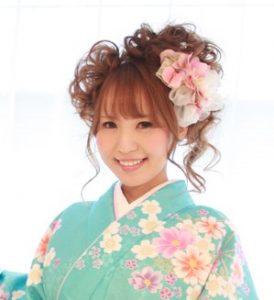 成人式髪型3