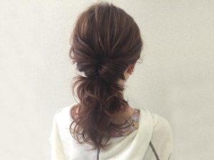 髪型アレンジ可愛い3