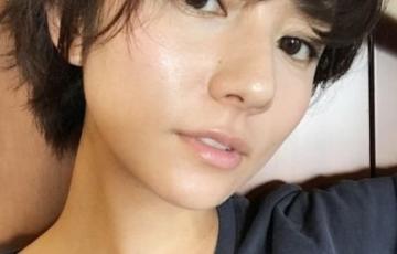 木村文乃髪型ショート