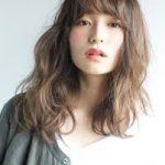 面長さんが似合う髪型【40代・ロング編】
