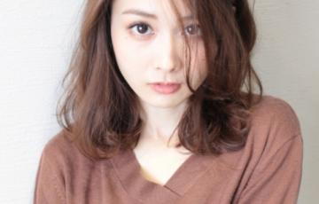 30代髪型ママミディアム